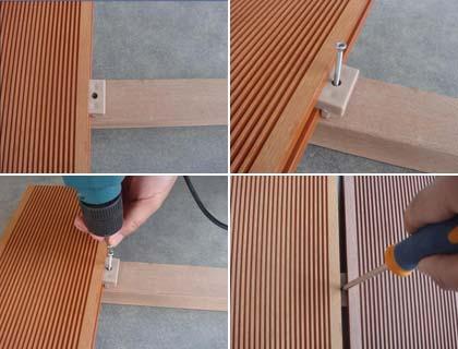 Как крепить террасную доску из лиственницы – инструкция по монтажу