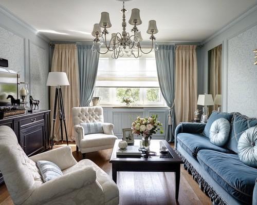 Синий цвет в интерьере различных комнат: 75 фото удачных сочетаний