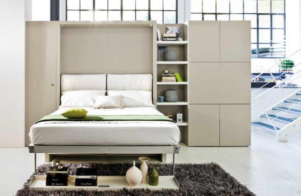 функциональная мебель для маленьких квартир