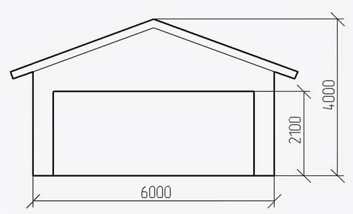 Строительство каркасного гаража из деревянного бруса своими руками