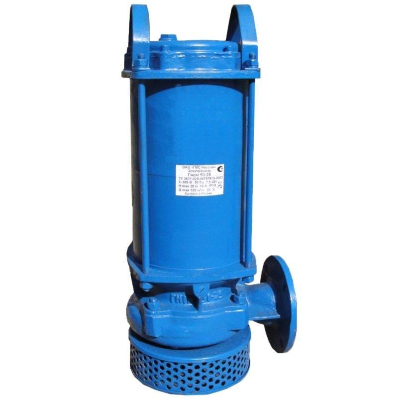 насос для откачки воды с пола