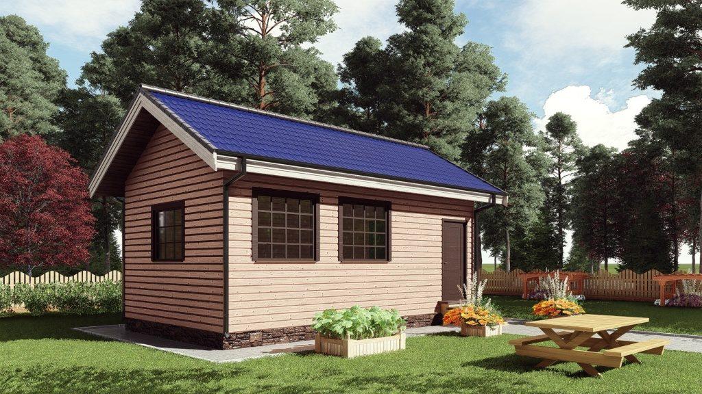 Как построить дачный домик своими руками пошаговая инструкция - деревянные дома
