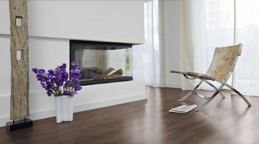 Невероятно красивый линолеум в интерьере квартиры