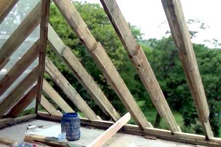 Деревянные стропила для крыши: конструкция, устройство, расчет стропил из дерева