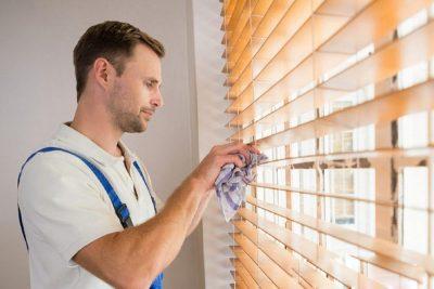Как постирать вертикальные жалюзи в домашних условиях?