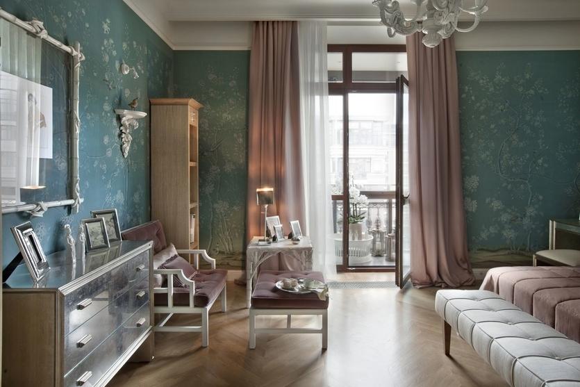 Прямоугольная комната и тонкости ее оформления - 78 фото примеров