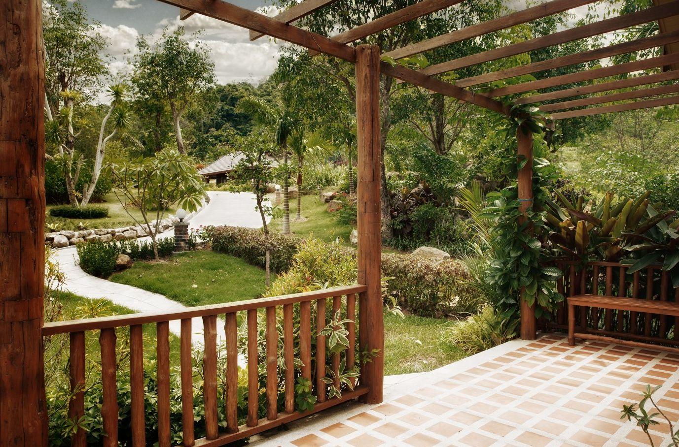 Веранда пристроенная к дому: как сделать своими руками, чертежи и схемы, фото – сад и огород своими руками