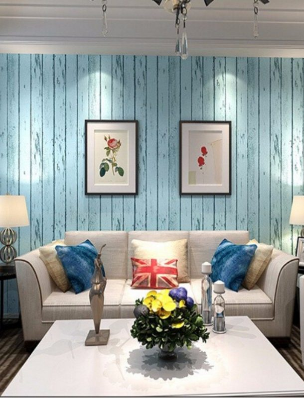 Обои под дерево для стен: виды и критерии выбора и нанесения а также имитация текстуры древесины в интерьере включая особенности отделки