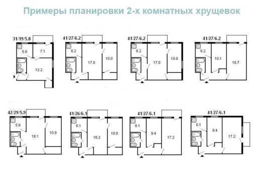Оформление и дизайн хрущевки 1-комнатной квартиры