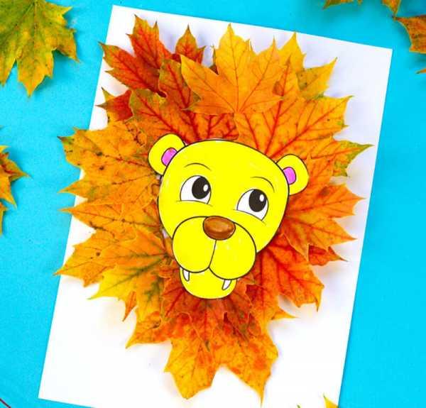 Аппликации из осенних листьев: как сделать поделки на тему осень в школу и садик | все о рукоделии