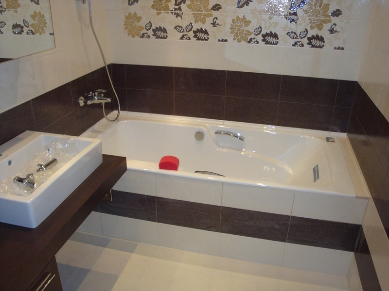 Ремонт ванной и туалета под ключ в москве - мини ванна