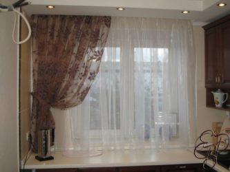 как рассчитать ширину штор на окно