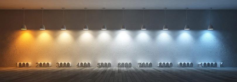 Цветовая температура света: измерение в кельвинах, шкала для светодиодных ламп, индекс, восприятие человека