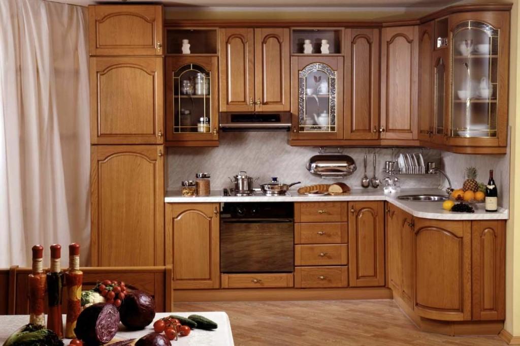 Кухонные фасады из массива и мдф «под дерево» — какие выбрать?