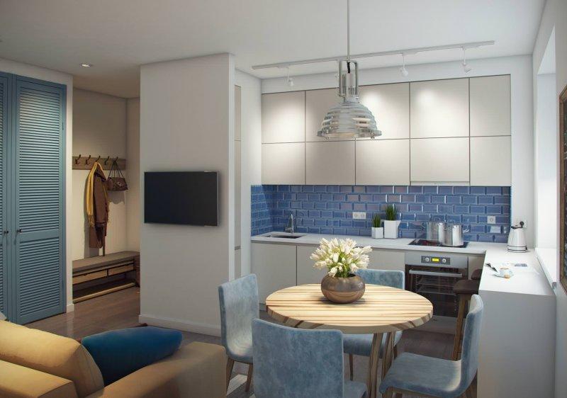 дизайн гостиной 14 кв м