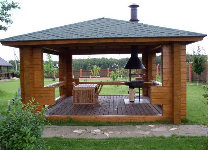 Дизайн мангальной зоны частного дома на даче: как обустроить, удачные идеи  - 30 фото