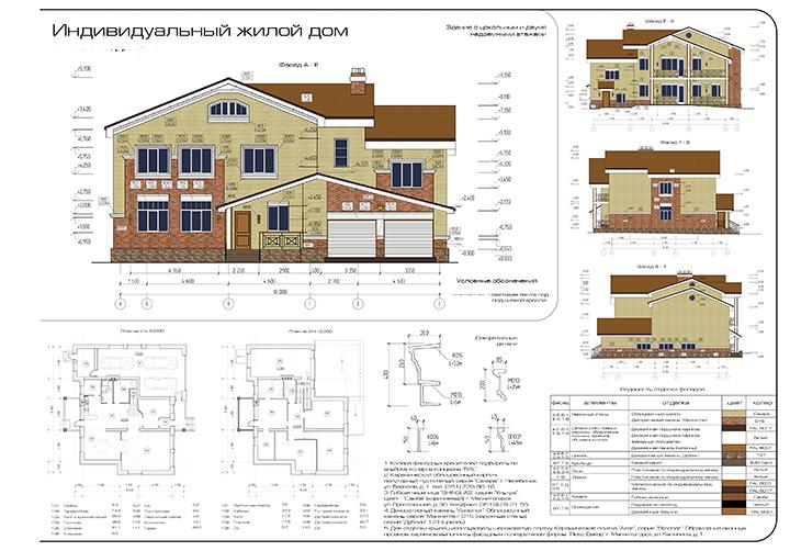 План дома: фото, видео, как делать проект, создания чертежа