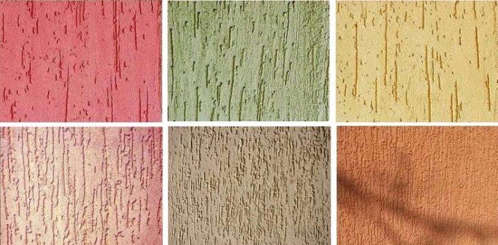 Декоративная штукатурка короед: что это такое, технология нанесения своими руками, терка, особенности сухой, цвета, покраска, фото в интерьере, отделка фасадов