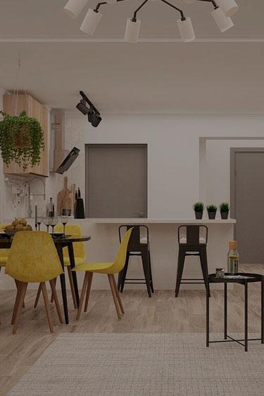 заказать дизайн проект интерьера квартиры