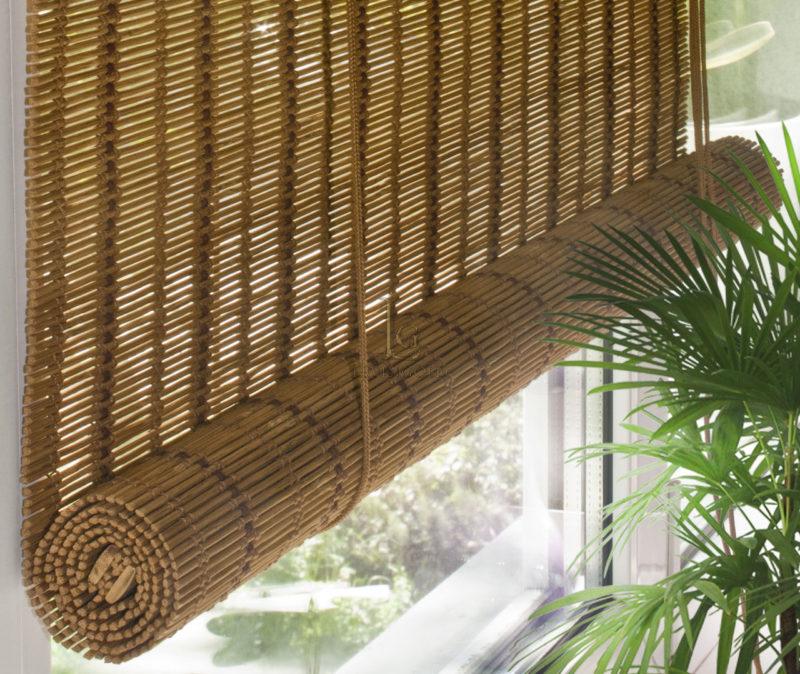 Бамбуковые шторы на дверной проем: виды, советы по установке