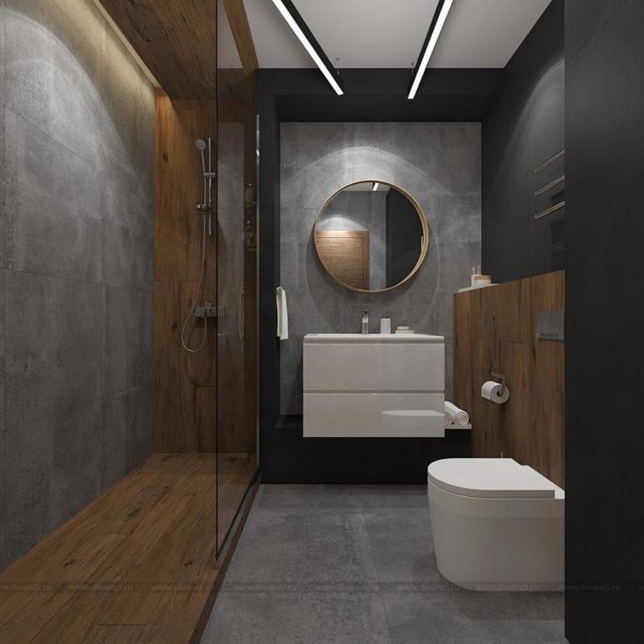 ванна в стиле лофт фото