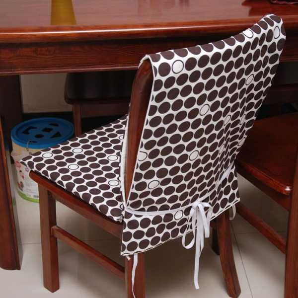 Современные чехлы на стулья для кухни фото идеи