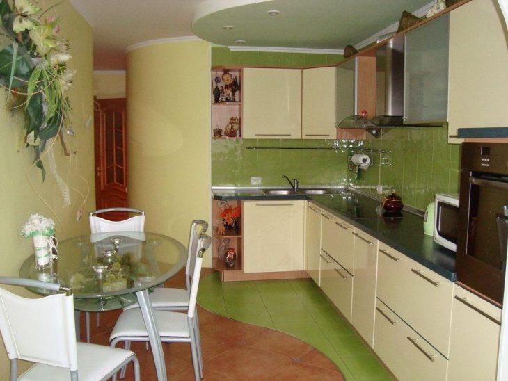 облицовка стен на кухне
