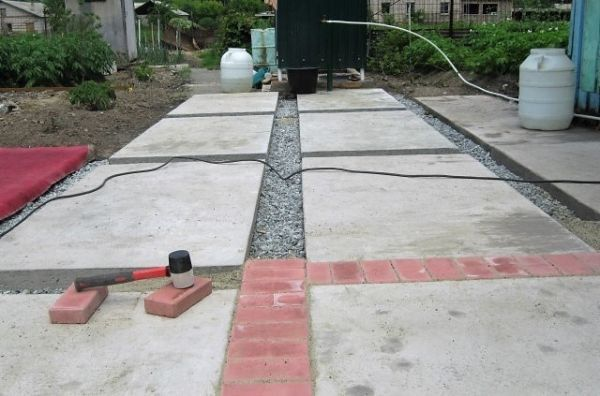 Залить бетон своими руками - 100 фото лучших идей применения бетона и особенности его укрепления