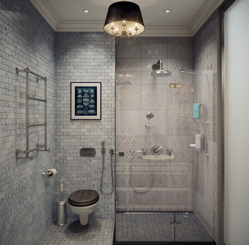 дизайн ванной с туалетом 5 кв м
