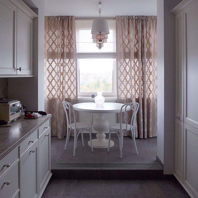 Шторы на кухню (70 реальных фото) — лучшие идеи и новинки