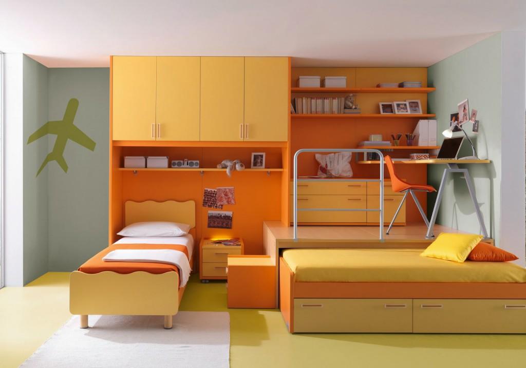 Оранжевая кухня в интерьере: 50 фото и 5 советов
