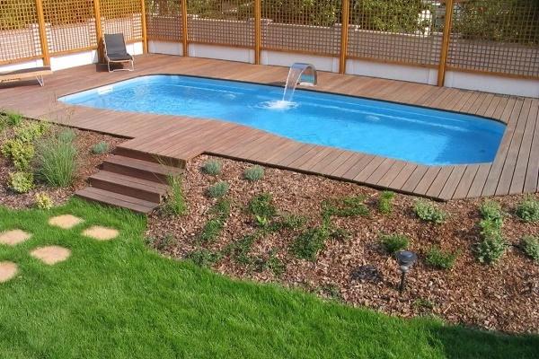Бетонный бассейн своими руками - бассейн из бетона +фото