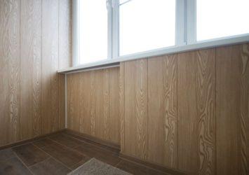 Отделка балкона мдф панелями своими руками: фото и видео инструкция