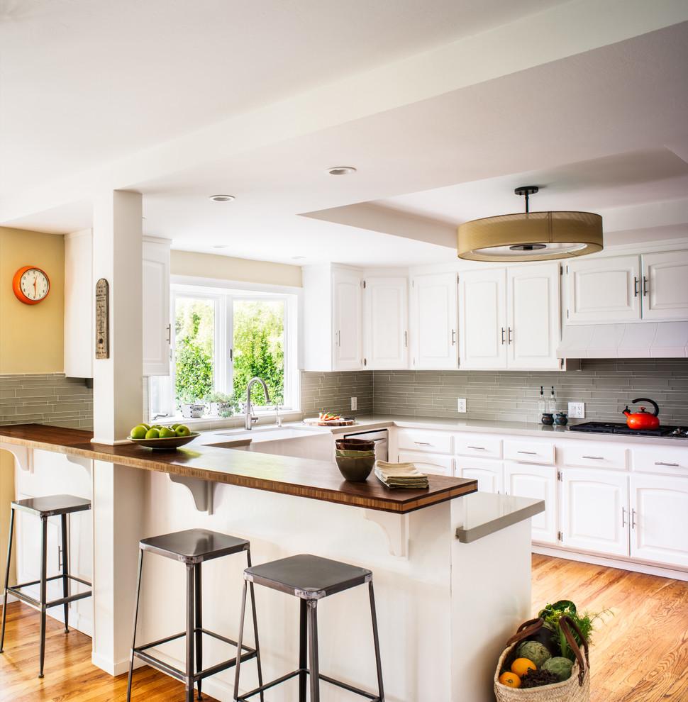 барные стойки на кухне в квартире