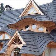 Крыша частного дома: 75 фото разновидностей вариантов установки