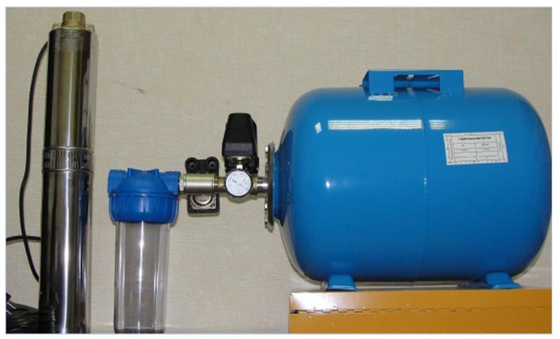 гидроаккумулятор для скважины