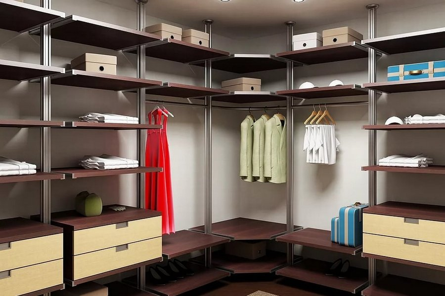 система хранения для гардеробной