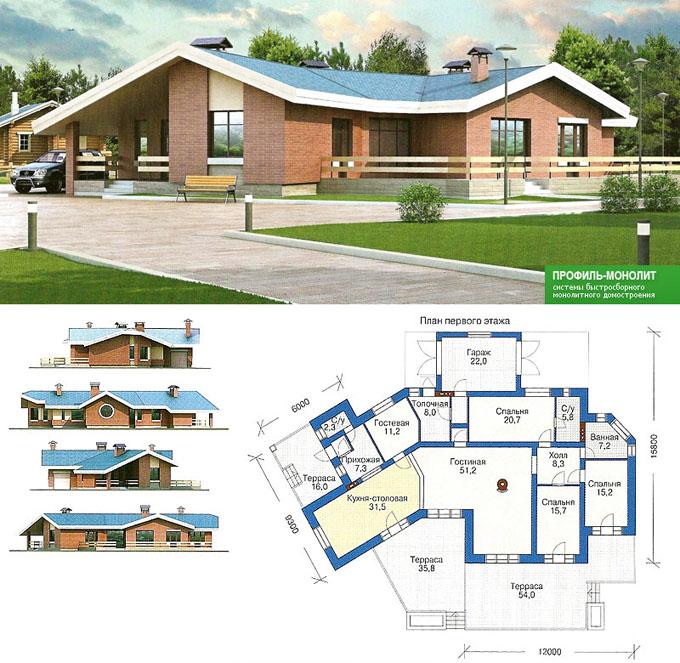 Проект дома своими руками - планировка и строительство деревянного дома (видео + фото)