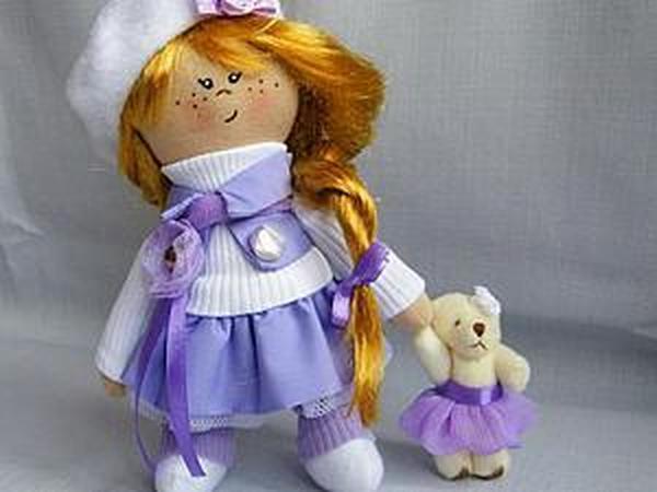 9 видов изготовления интерьерных кукол своими руками