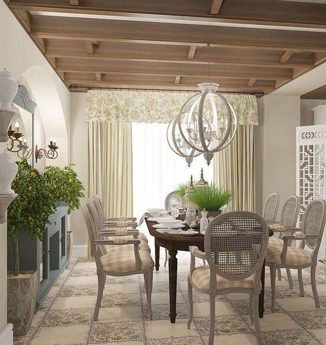 Стиль прованс в интерьере - 75 идей дизайна в фото
