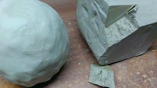 Какая она самозатвердевающая глина?