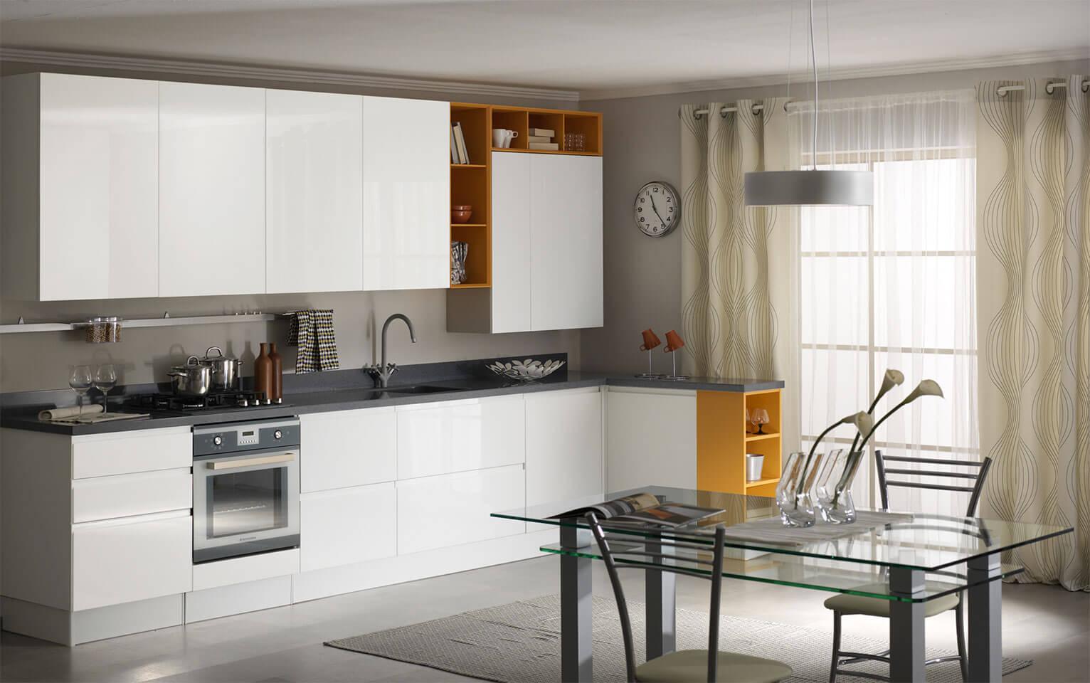 Дверцы для шкафа кухонного гарнитура: как навесить и отрегулировать?