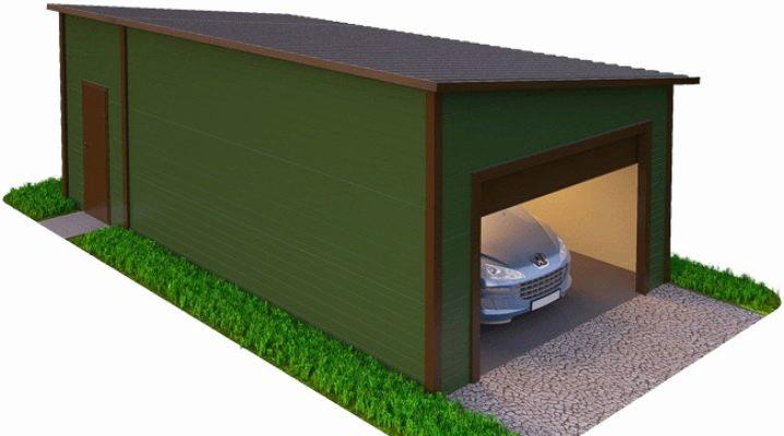 сколько стоит построить гараж из сэндвич панелей