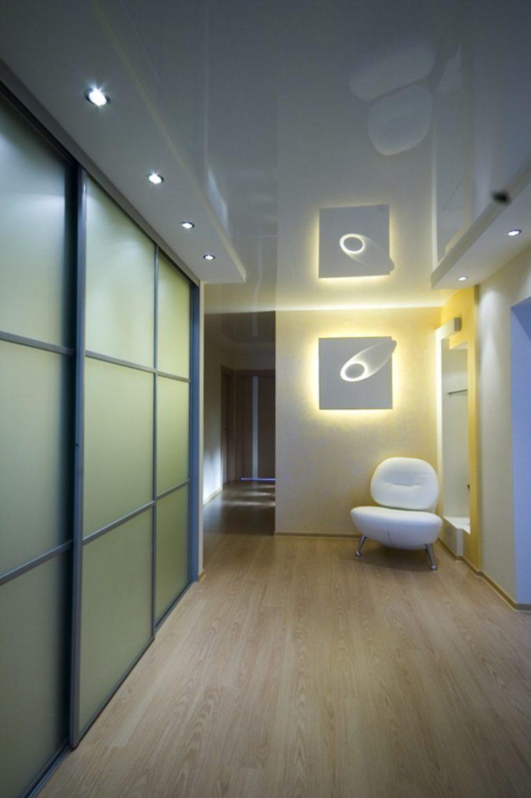 натяжные потолки с фотопечатью для зала