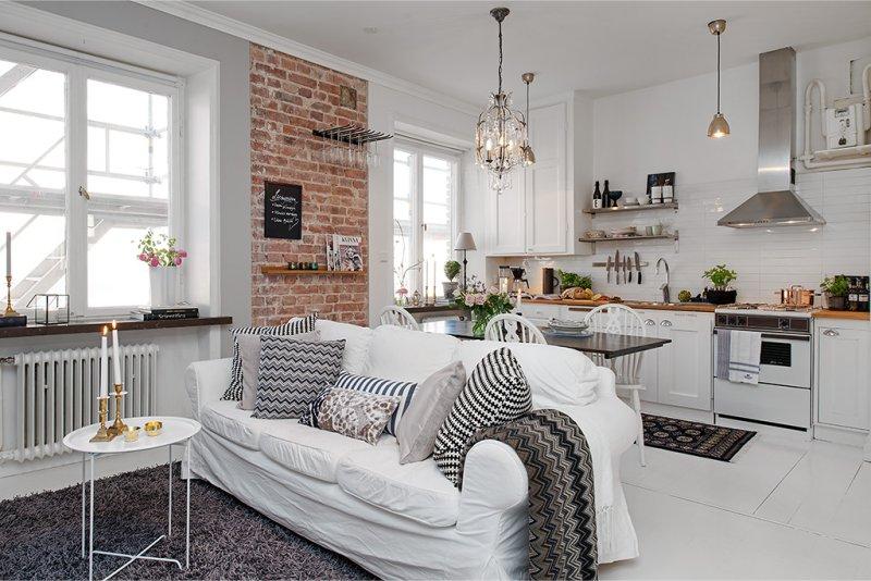 Дизайн кухни-студии: 75 современных идей интерьера и планировки