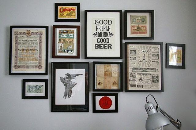 Как повесить картину на стену: без сверления стены, на обои, не повредив их