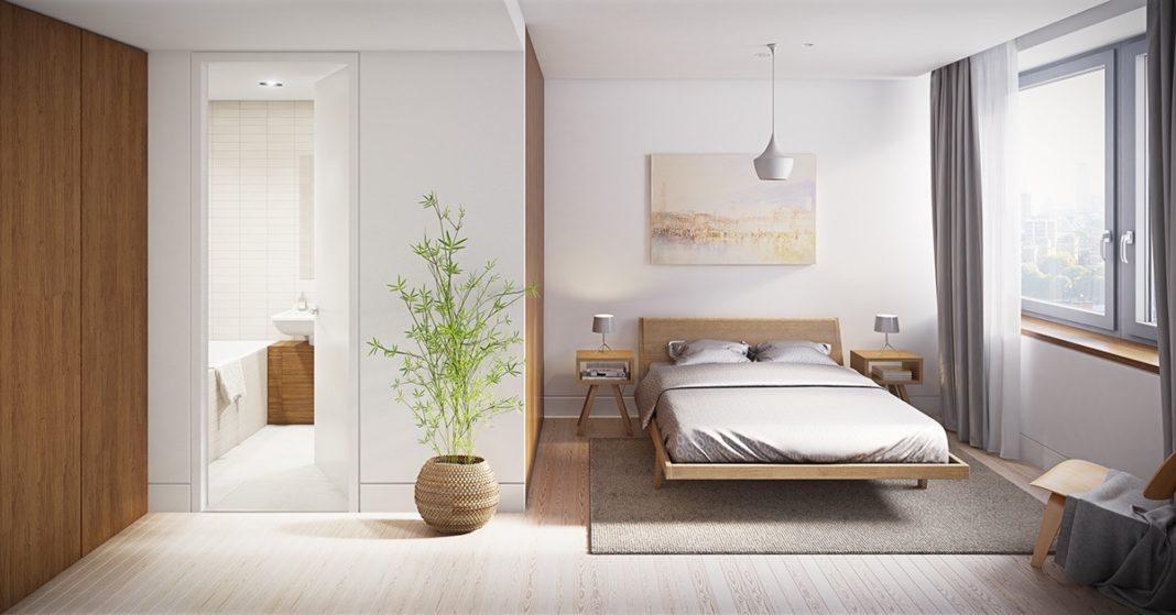 Спальня в светлых тонах в современном стиле: оформление, аксессуары, стиль