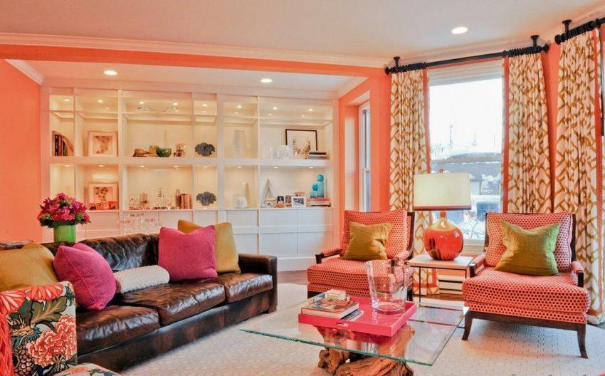 нежно персиковый цвет