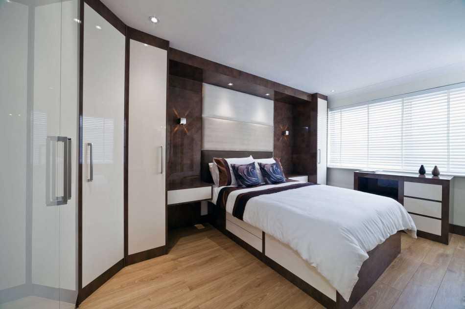 Выбор шкафа-купе в спальню, интересные дизайнерские решения