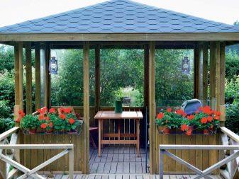 Беседки из дерева: 140 фото и подробное описание постройки для сада